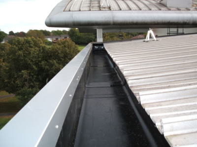 Industrial Guttering Clearance Amp Maintenance Roof Link